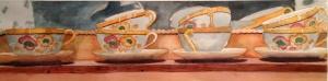David Flory, Orange Teacups