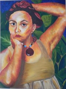 Gabriela Magana, Self-Portrait