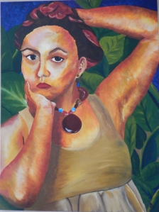 Gabriela Magana, Self-Portrait