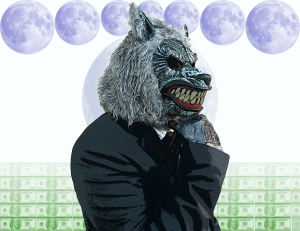 Business Wolfman by Jose Gordillo