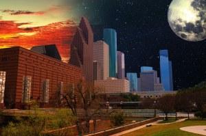 Houston Skyline by Michael McCain