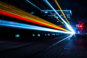 The Train of Light by Thai Pham